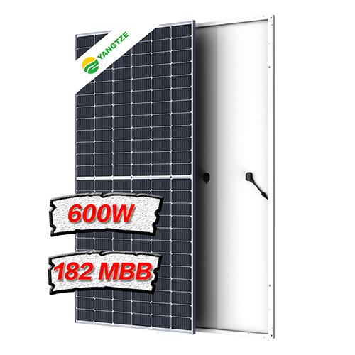 Mono 550Wp~600Wp 182mm half cell 10BB