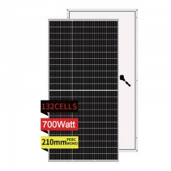 Mono 660W~700W @210mm Half Cell (132cells)